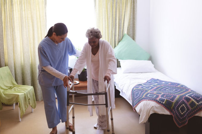 Gait Correction: An Essential Training for Seniors
